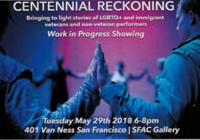 Centennial Reckowing Performance EchoTheaterSuitCase Veterans Building